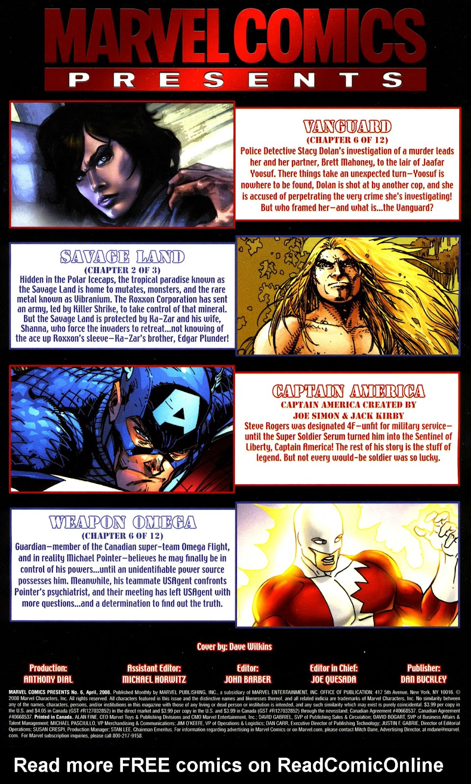 marvel comics presents #6 buy