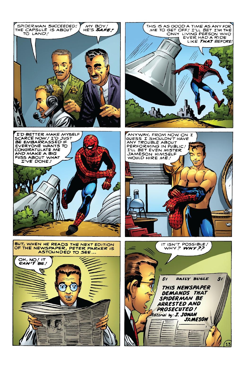 Amazing Fantasy #15: Spider-Man! Full #1 - English 28