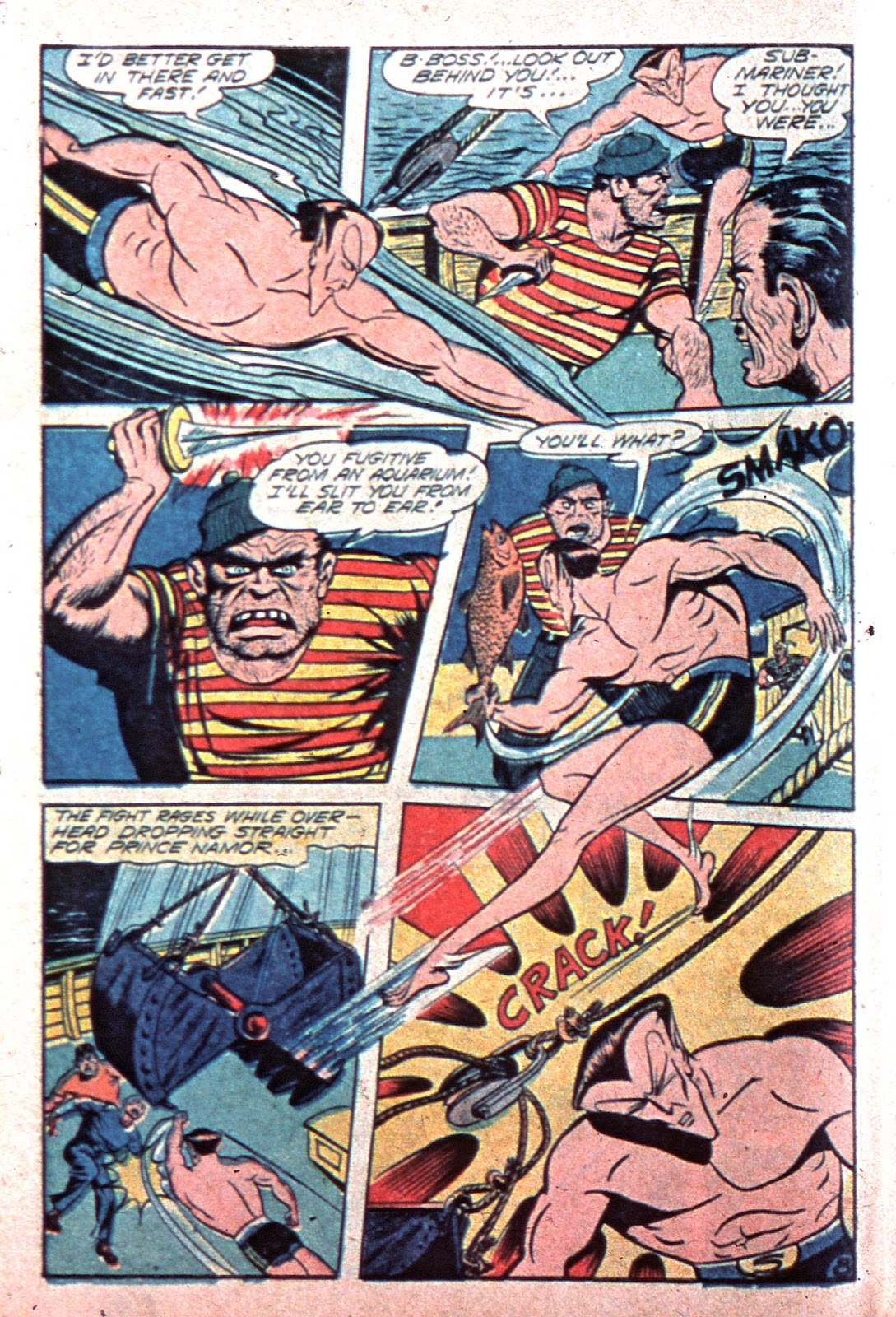 Sub-Mariner Comics Issue #15 #15 - English 10