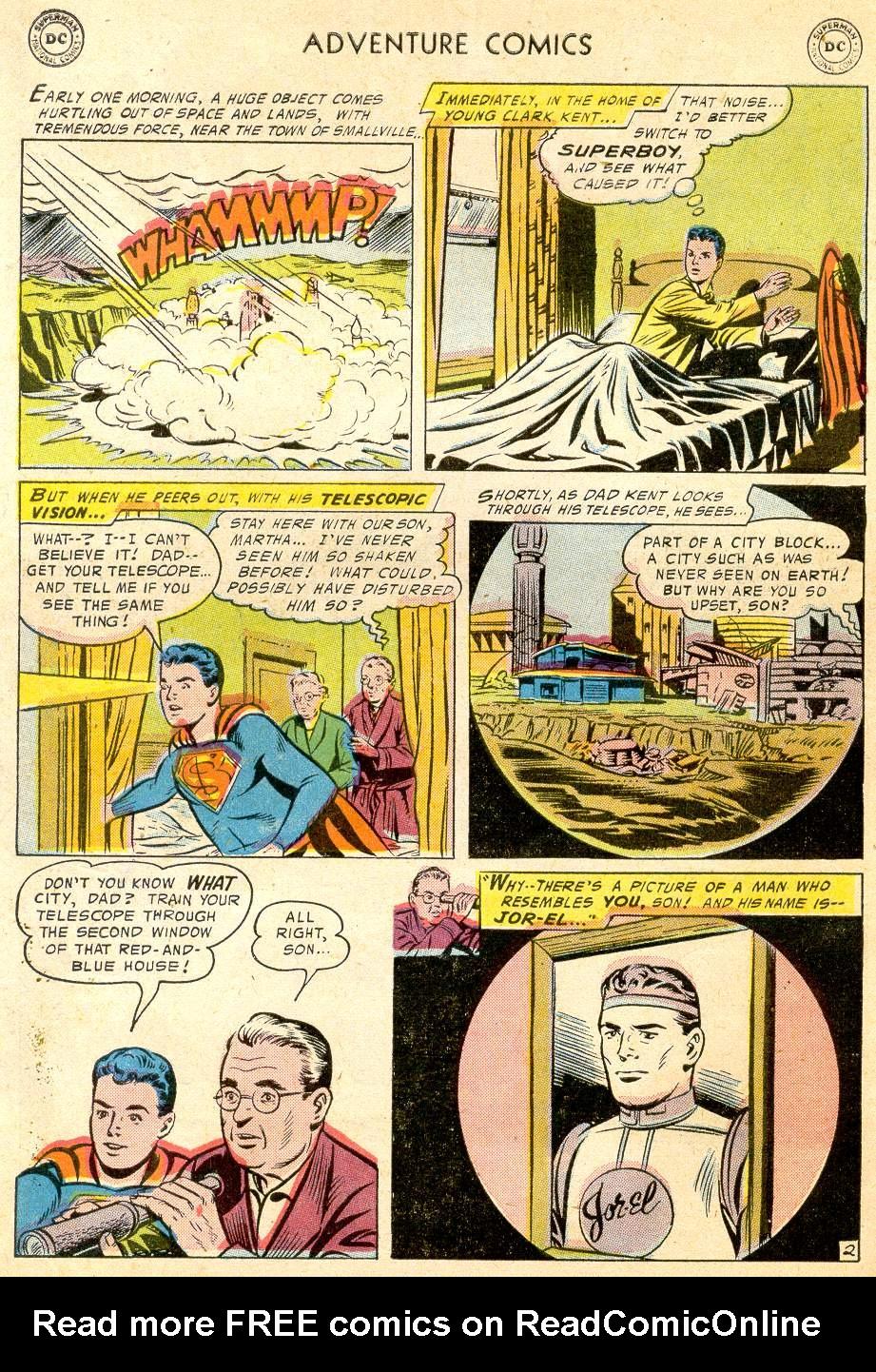 Read online Adventure Comics (1938) comic -  Issue #232 - 4