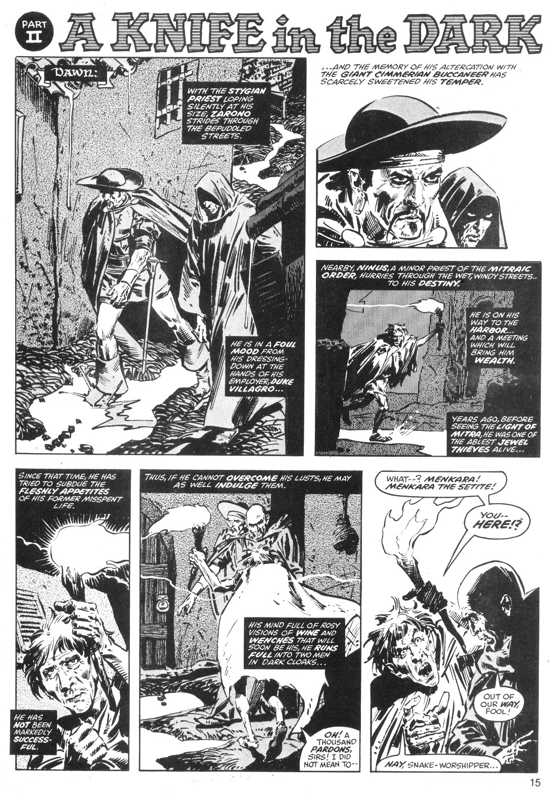 The Savage Sword Of Conan Issue #40 #41 - English 15