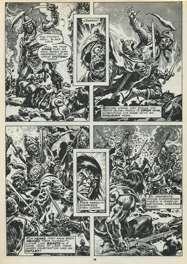 The Savage Sword Of Conan Issue #173 #174 - English 50