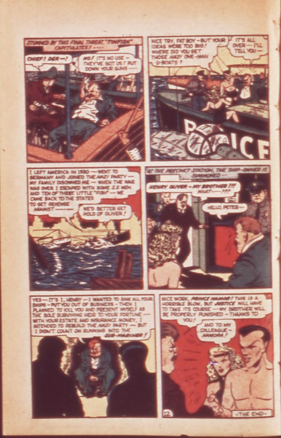 Sub-Mariner Comics #24 #24 - English 28