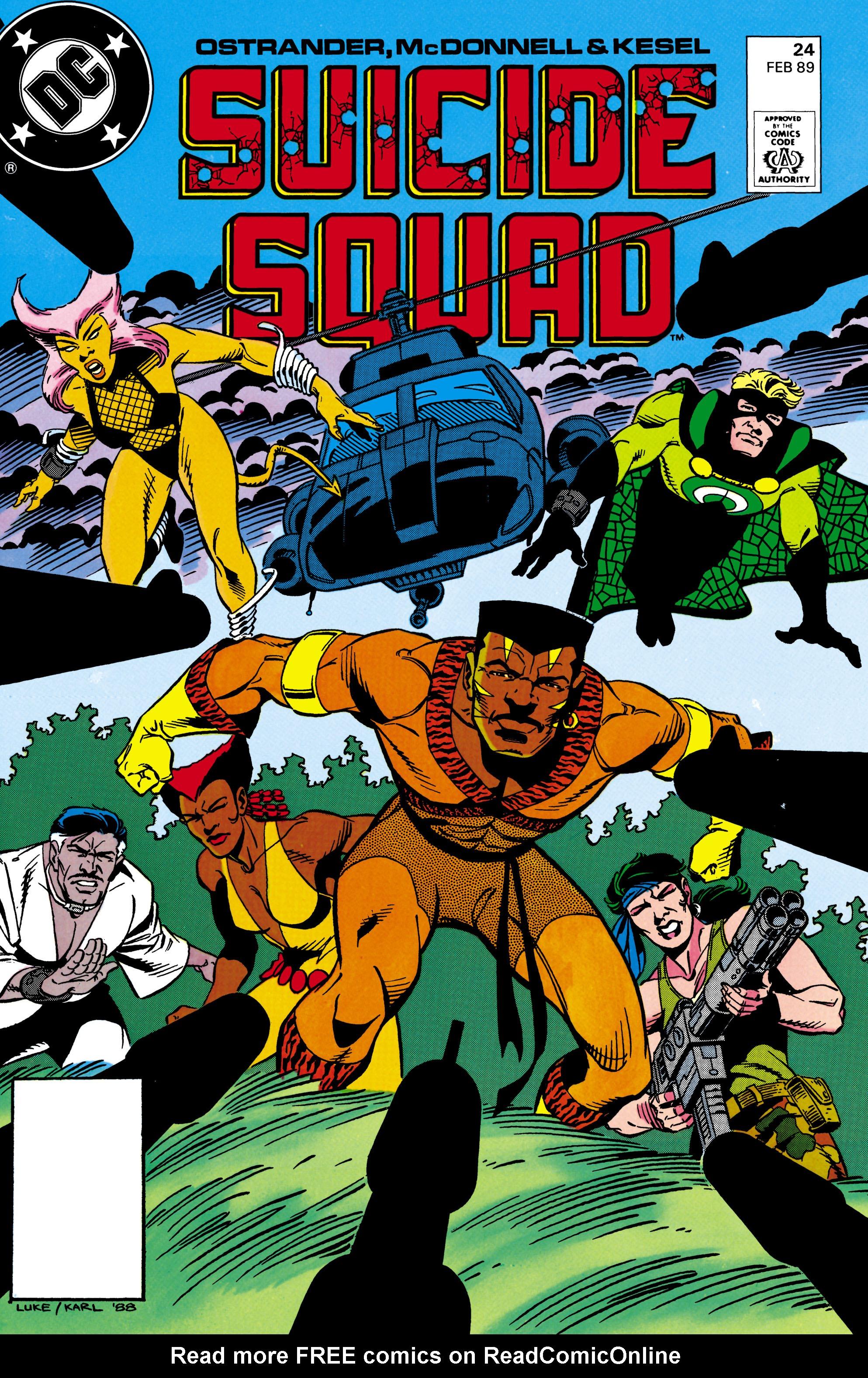 Suicide Squad (1987) 24 Page 1