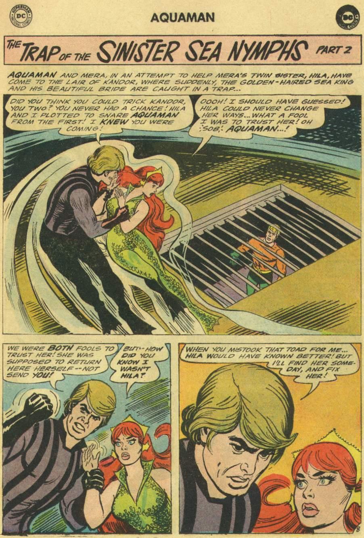 Read online Aquaman (1962) comic -  Issue #22 - 11