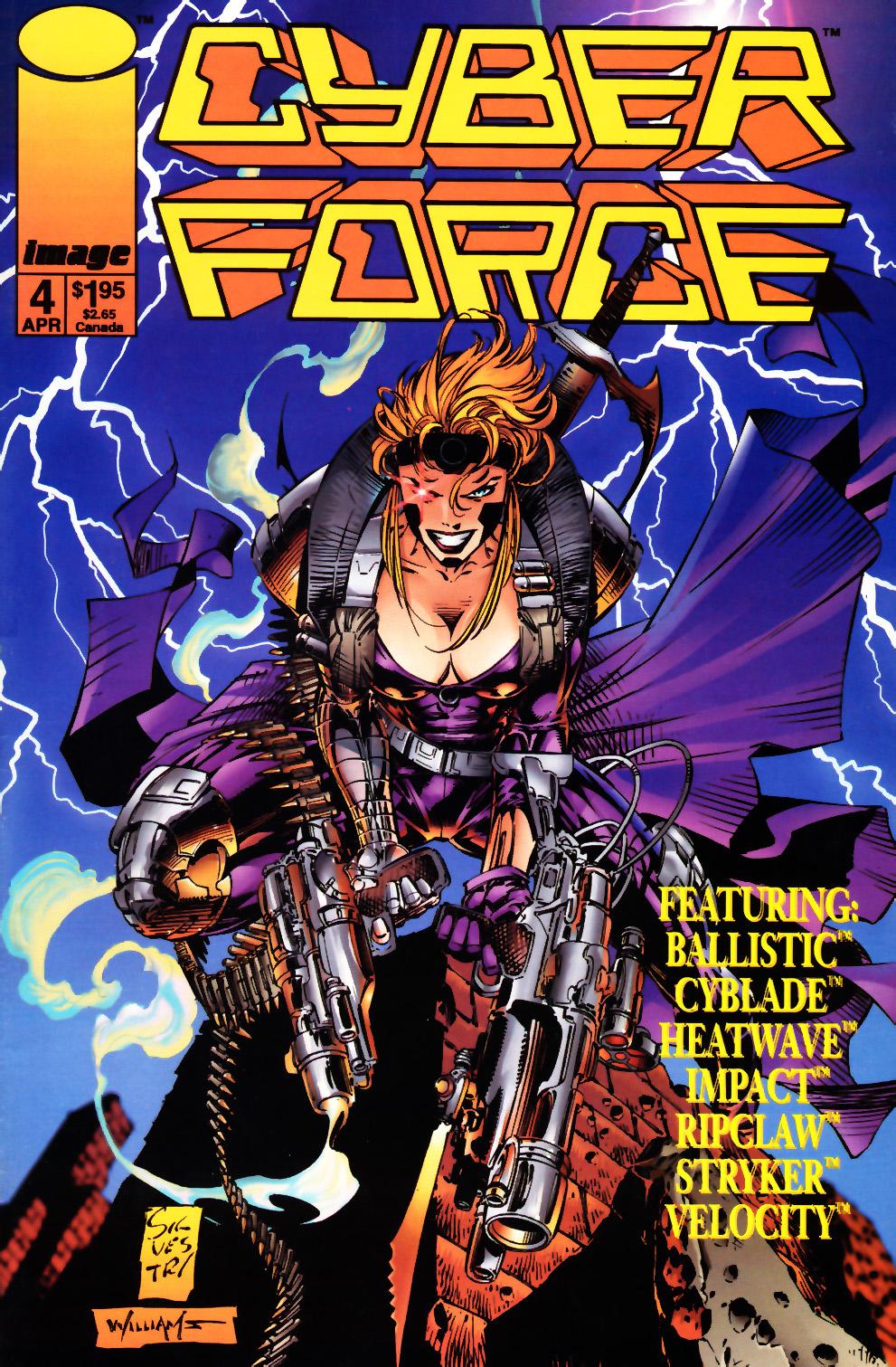 Cyberforce (1993) 4 Page 1