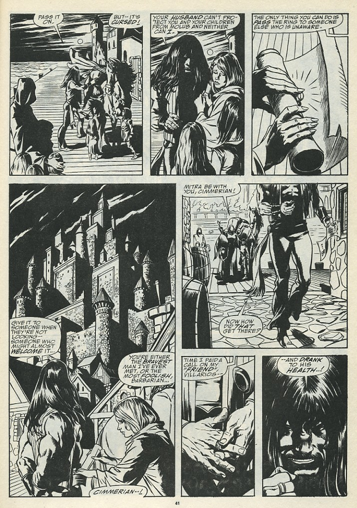 The Savage Sword Of Conan Issue #185 #186 - English 43