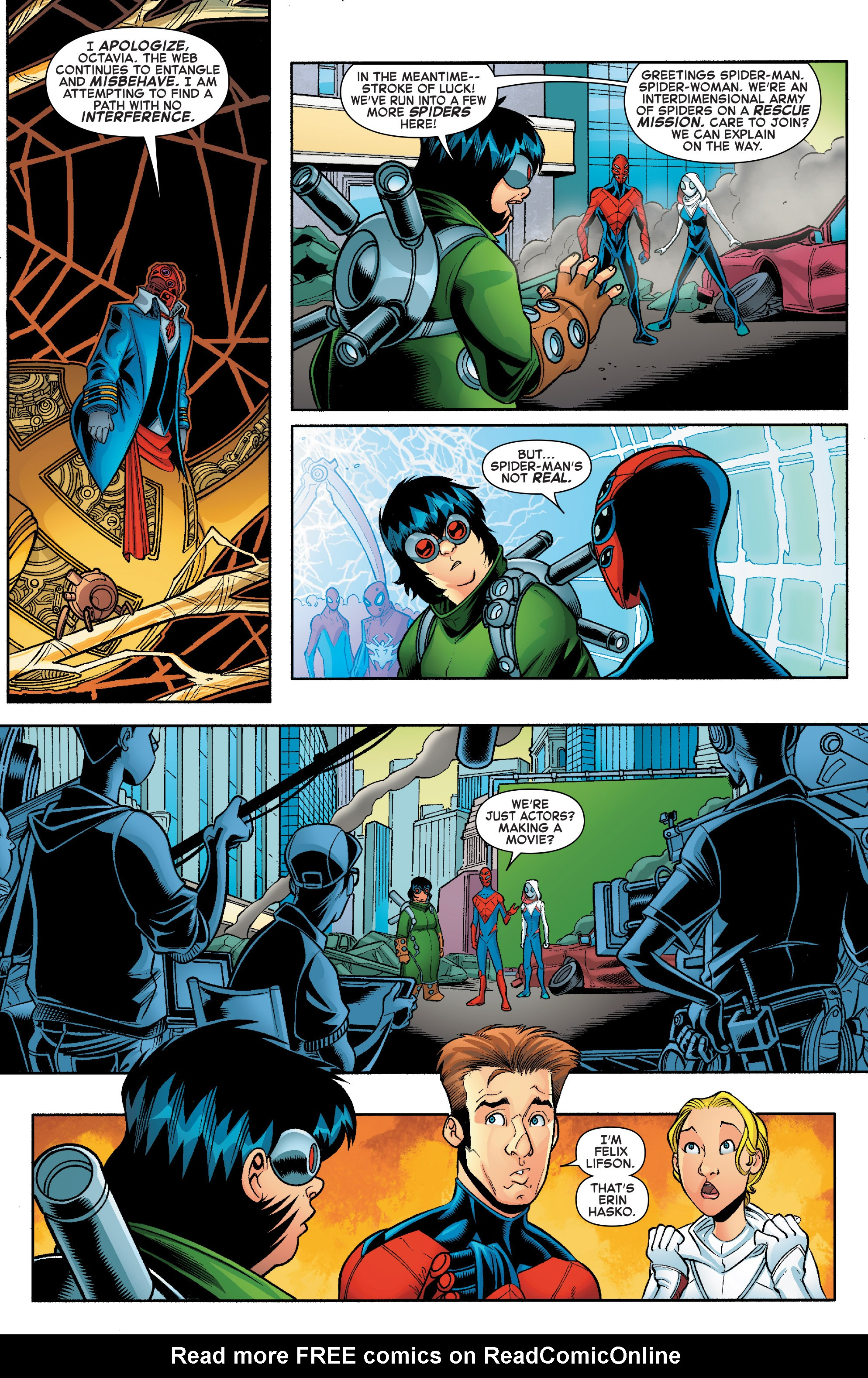 Read online Web Warriors comic -  Issue #10 - 5