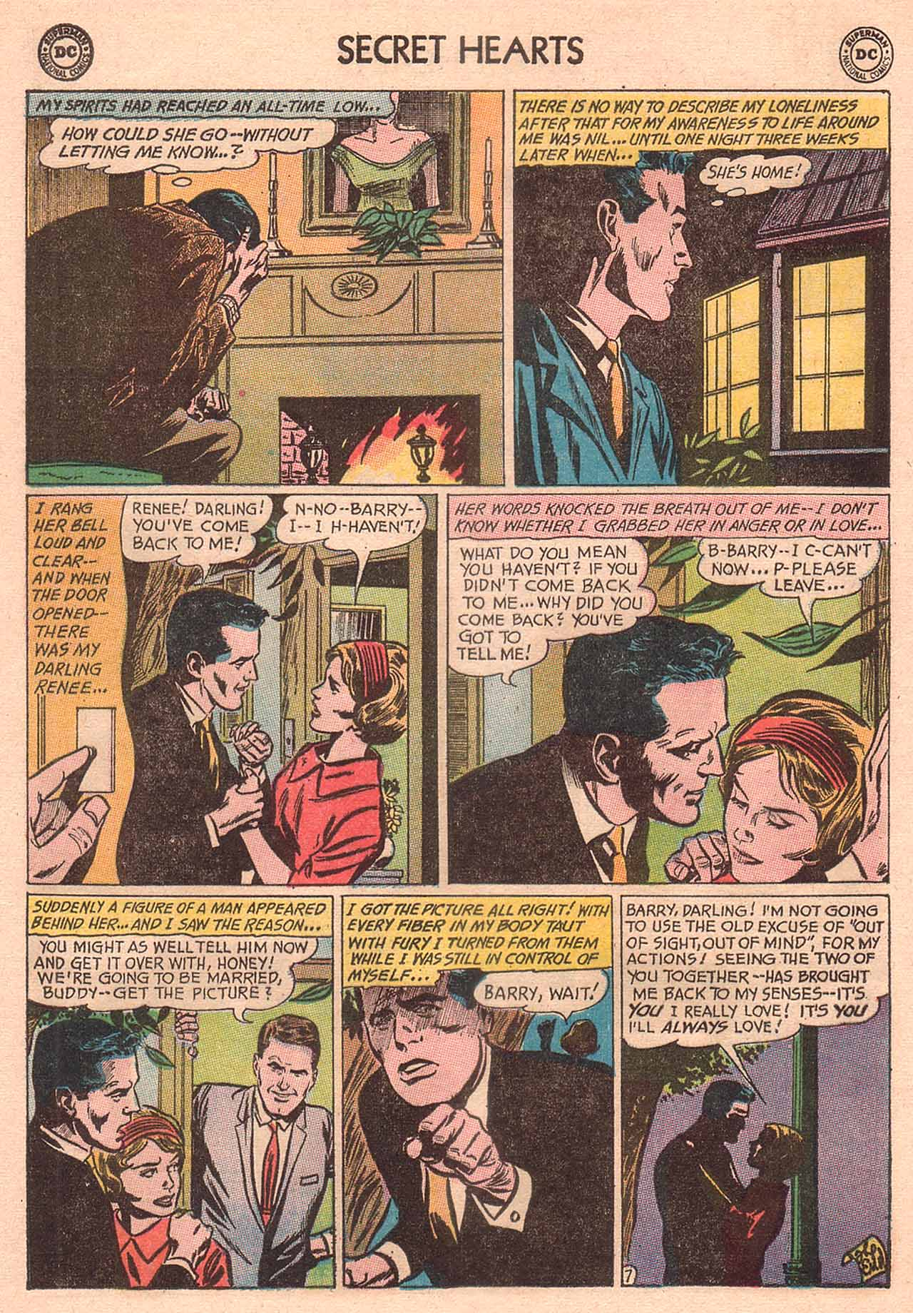 Read online Secret Hearts comic -  Issue #94 - 24
