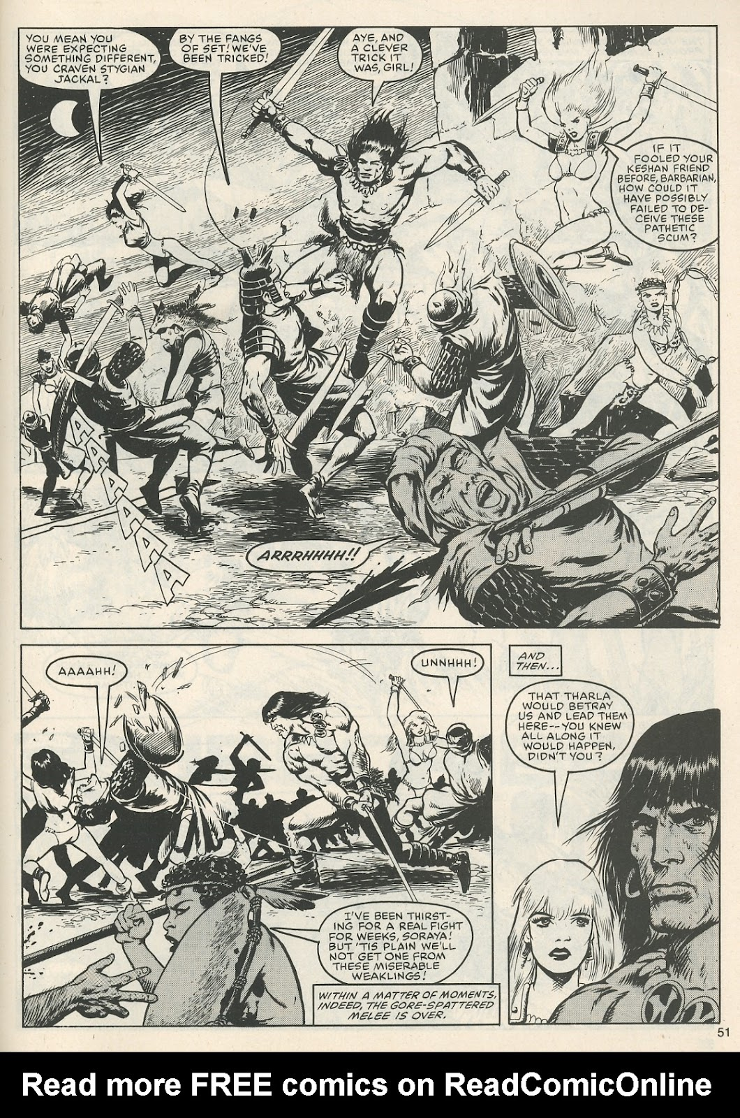 The Savage Sword Of Conan Issue #111 #112 - English 53
