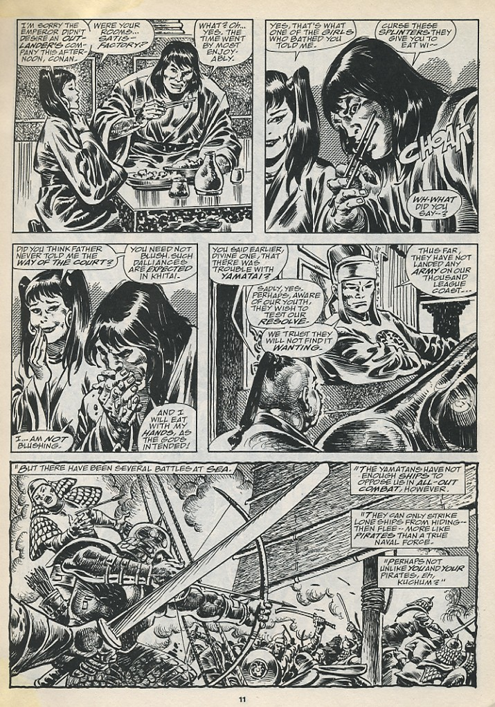 The Savage Sword Of Conan Issue #194 #195 - English 13