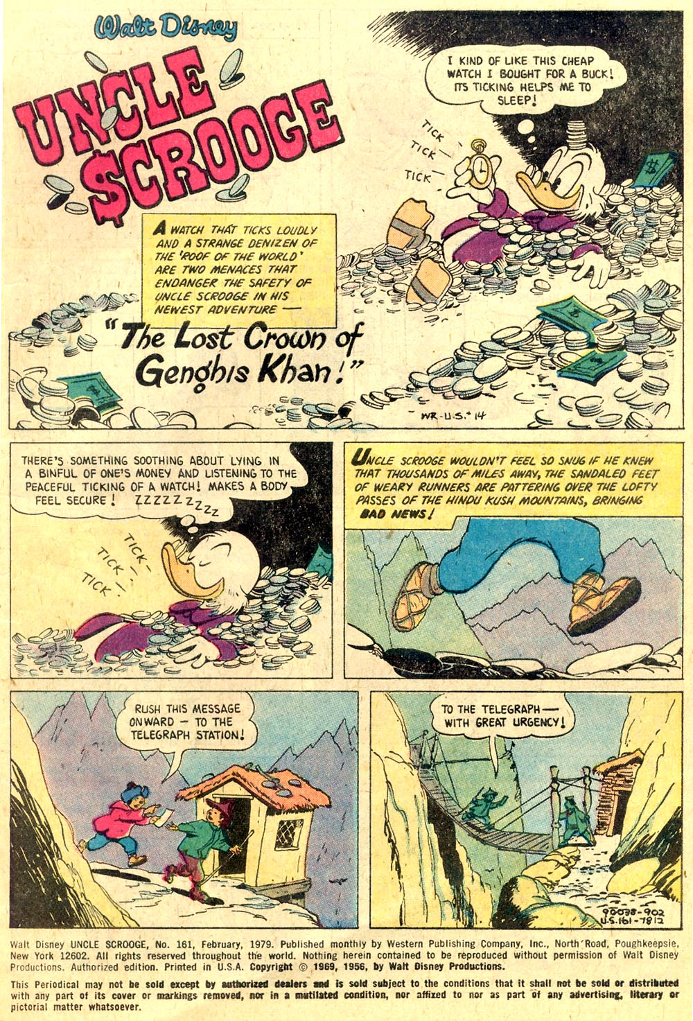 Uncle Scrooge (1953) Issue #161 #161 - English 5