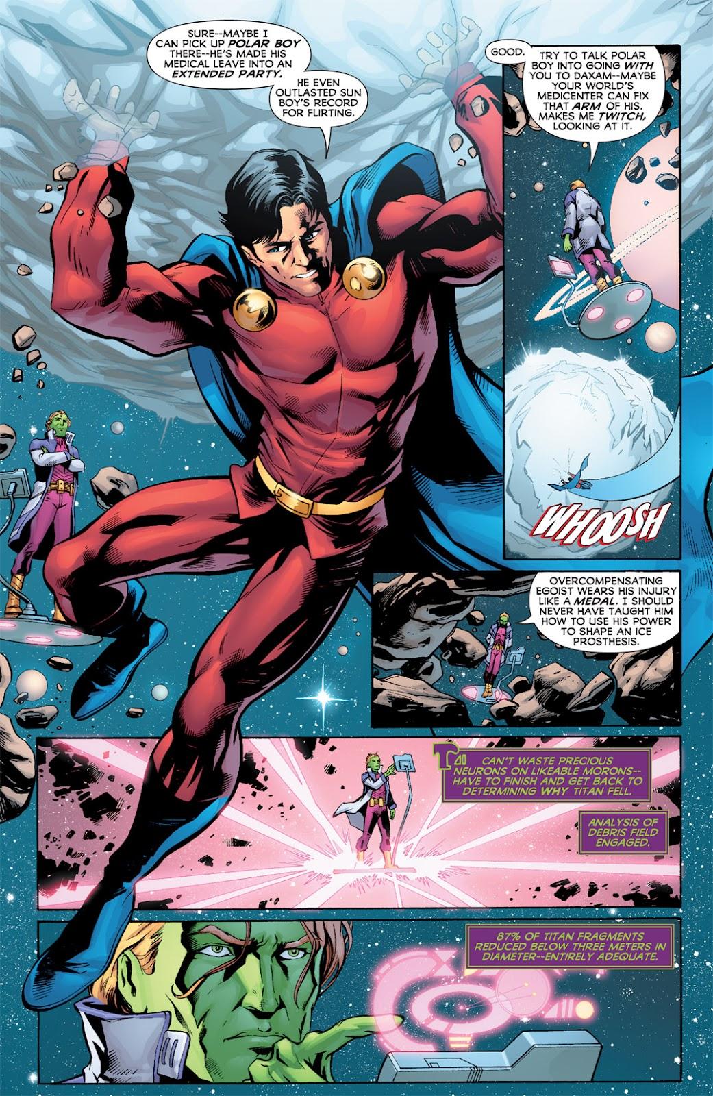 Legion of Super-Heroes (2010) Issue #2 #3 - English 7