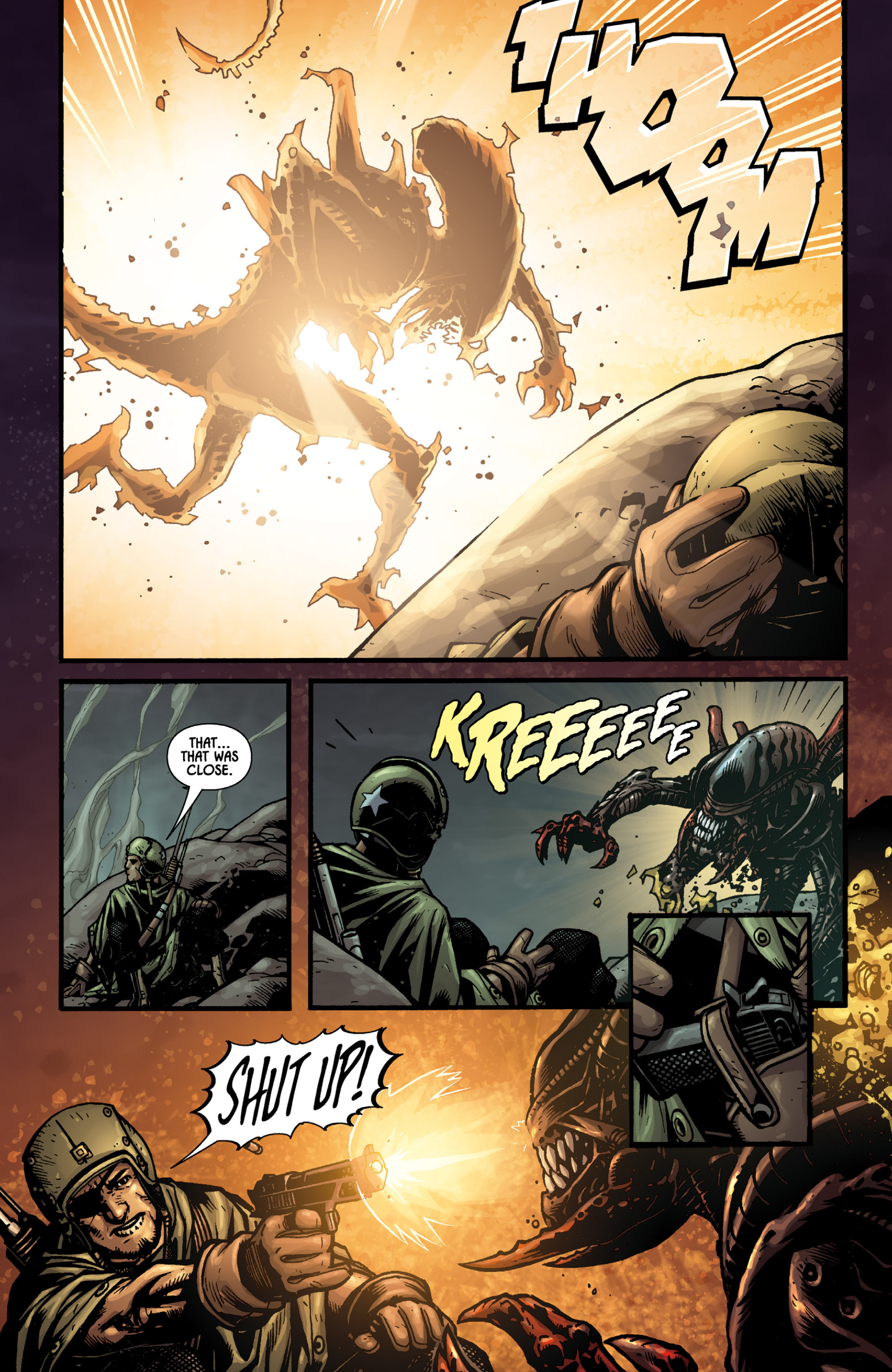Aliens (2009) TPB Page 52