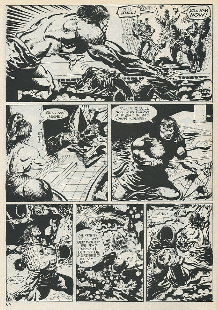 The Savage Sword Of Conan Issue #131 #132 - English 64