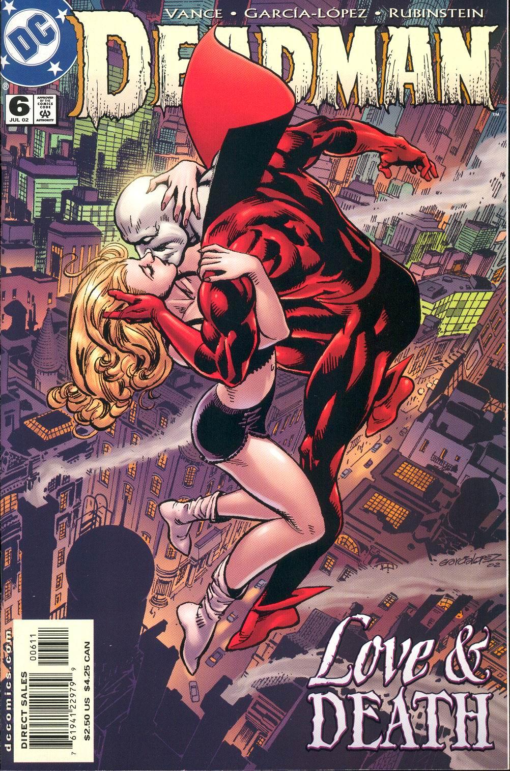 Read online Deadman (2002) comic -  Issue #6 - 1