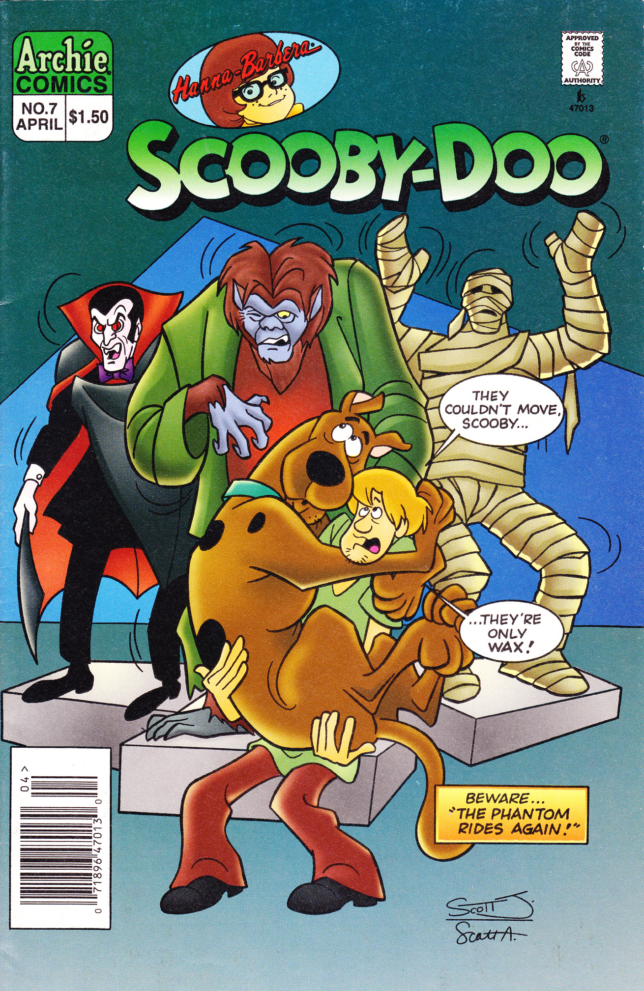 Read online Scooby-Doo (1995) comic -  Issue #7 - 1