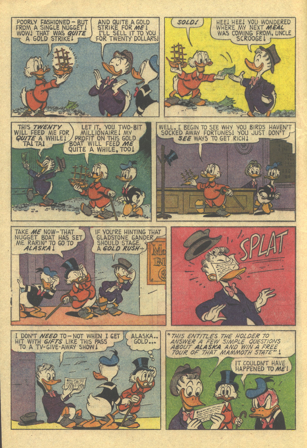 Uncle Scrooge (1953) Issue #86 #86 - English 4
