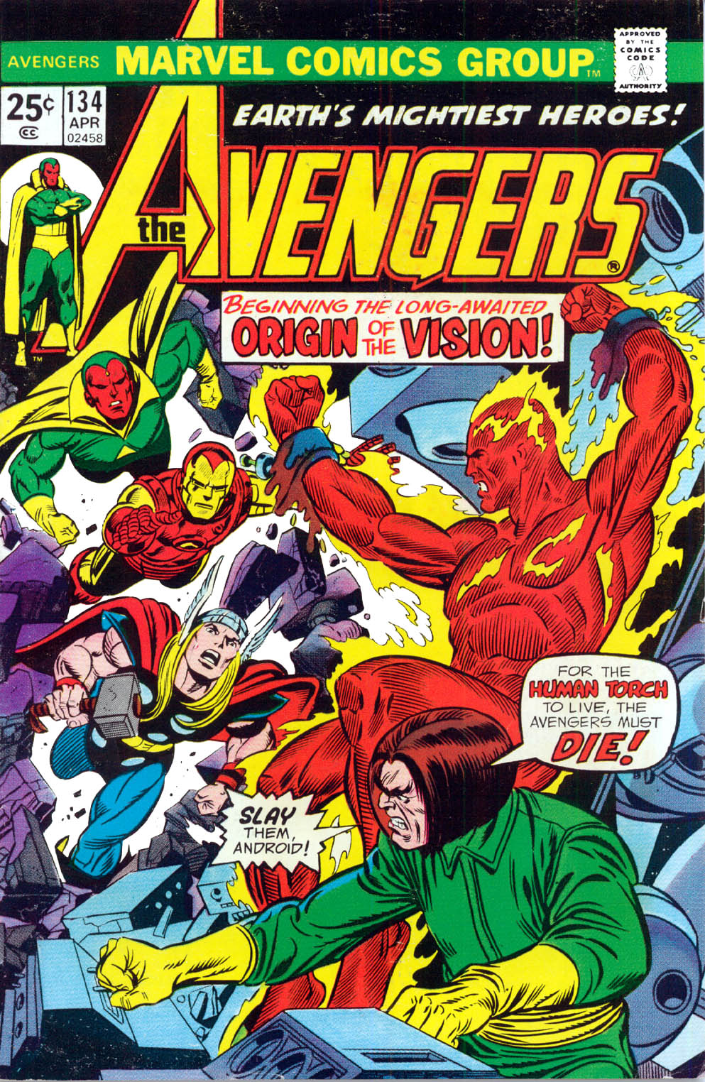 The Avengers (1963) 134 Page 1