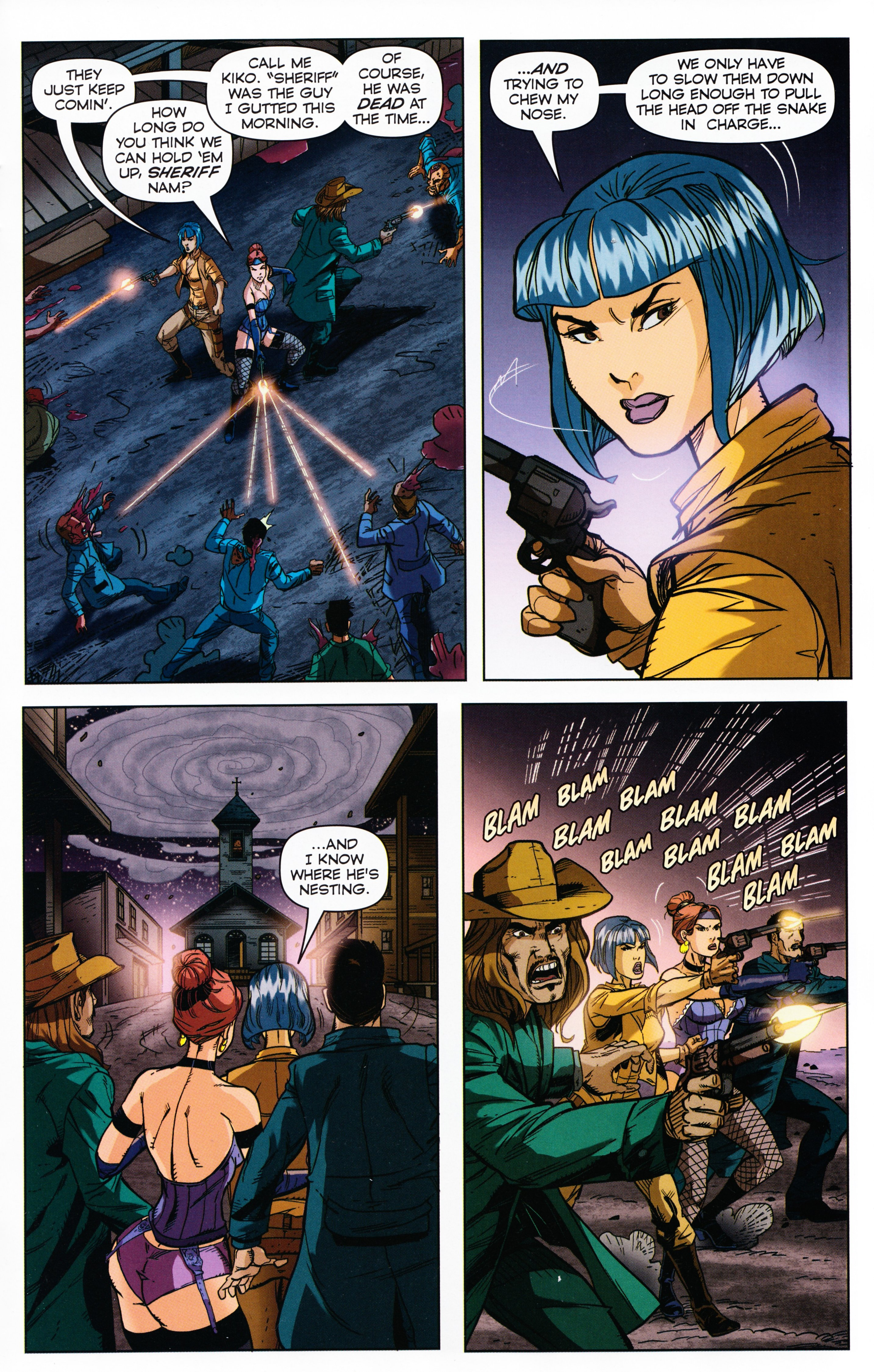 Read online Evil Dead 2: Tales of the Ex-Mortis comic -  Issue #3 - 23