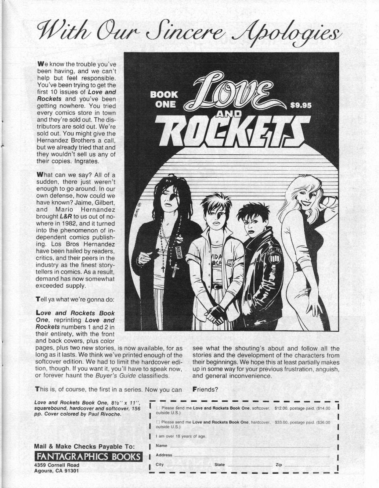 Love and Rockets (1982) Issue #14 #13 - English 23