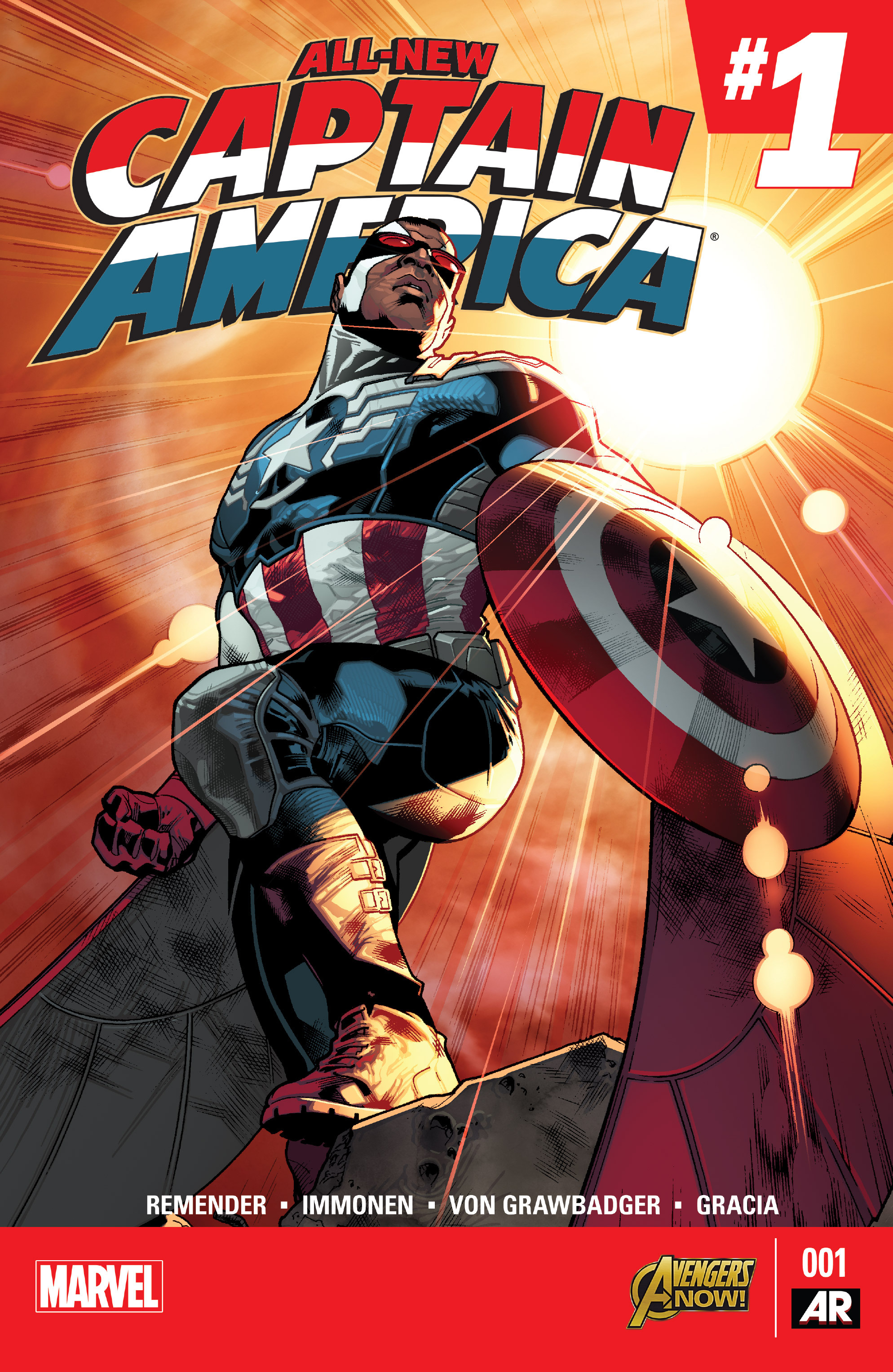 All-New Captain America 1 Page 1