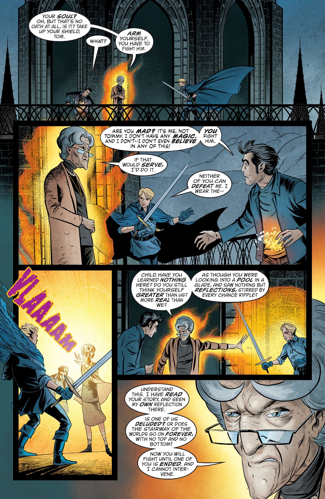 The Unwritten Issue #54 #60 - English 16