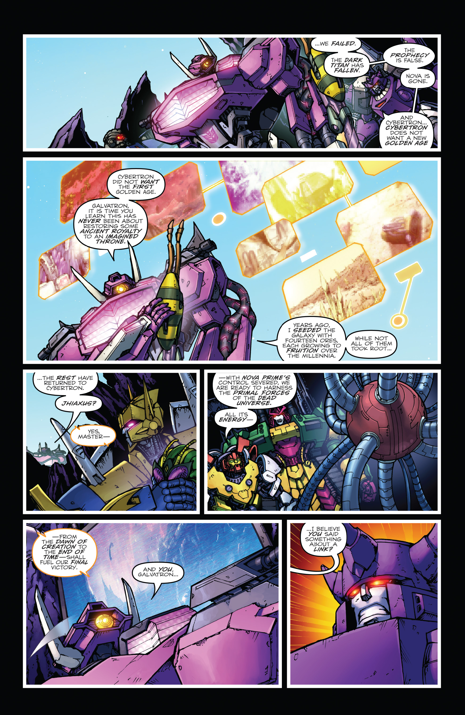 Read online The Transformers: Dark Cybertron Finale comic -  Issue # Full - 75