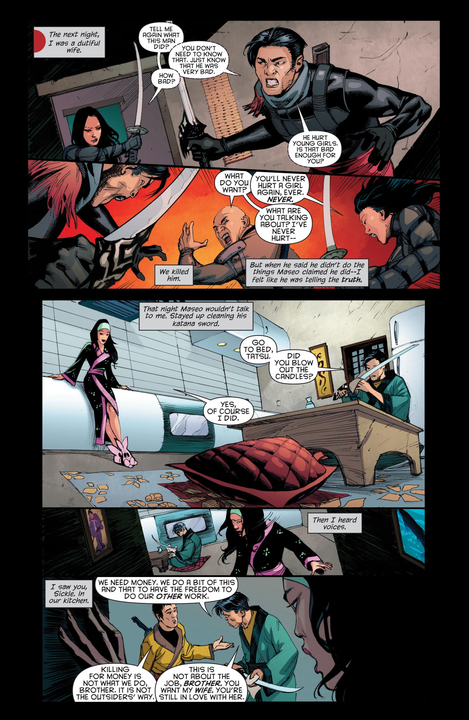 Read online Katana comic -  Issue #7 - 16