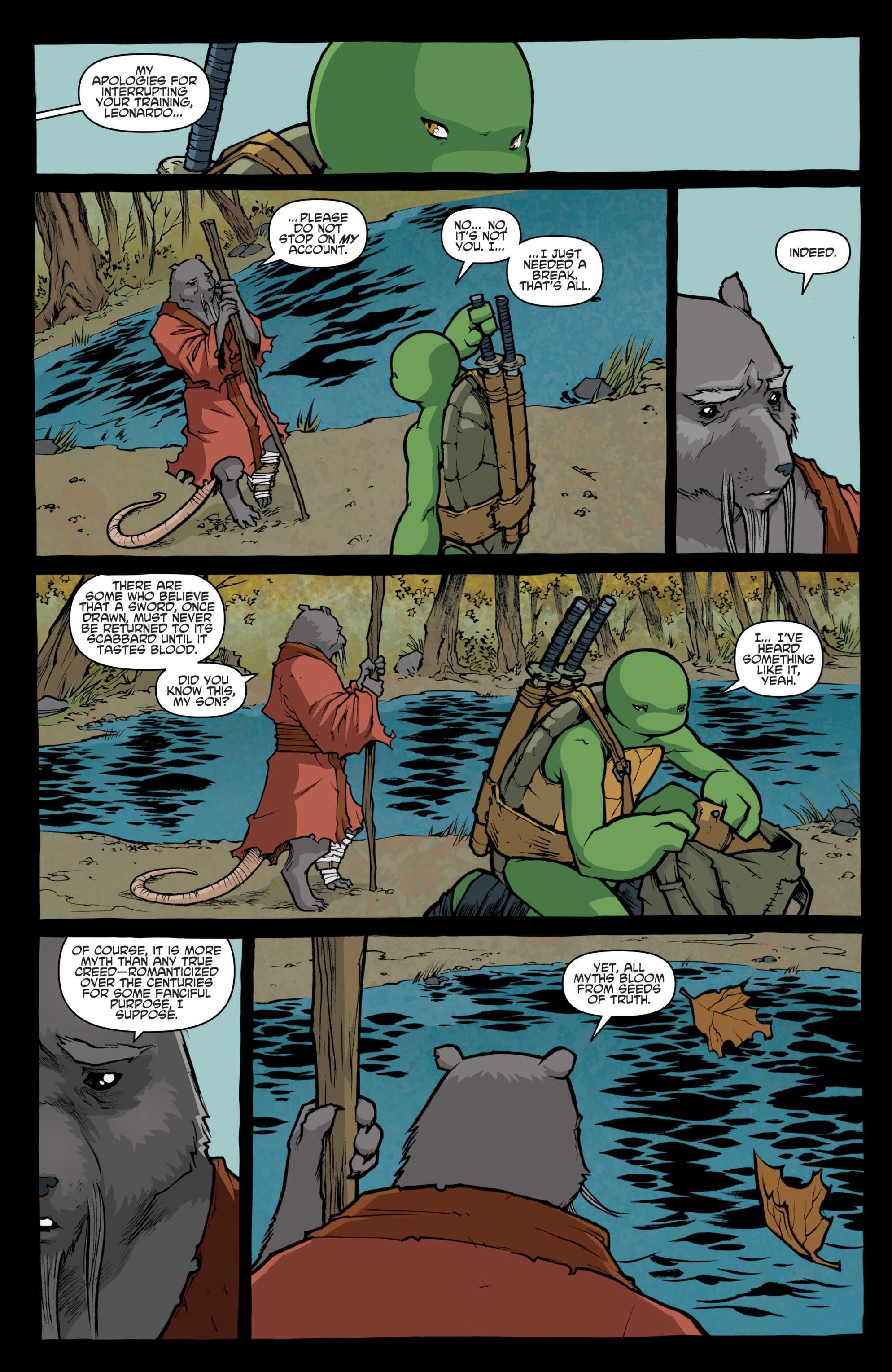 Read online Teenage Mutant Ninja Turtles (2011) comic -  Issue #31 - 12