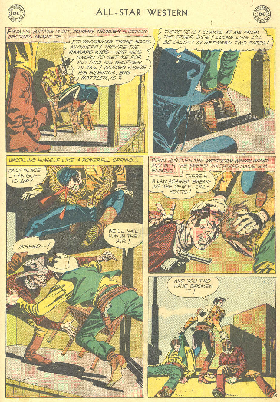 Read online All-Star Western (1951) comic -  Issue #105 - 27