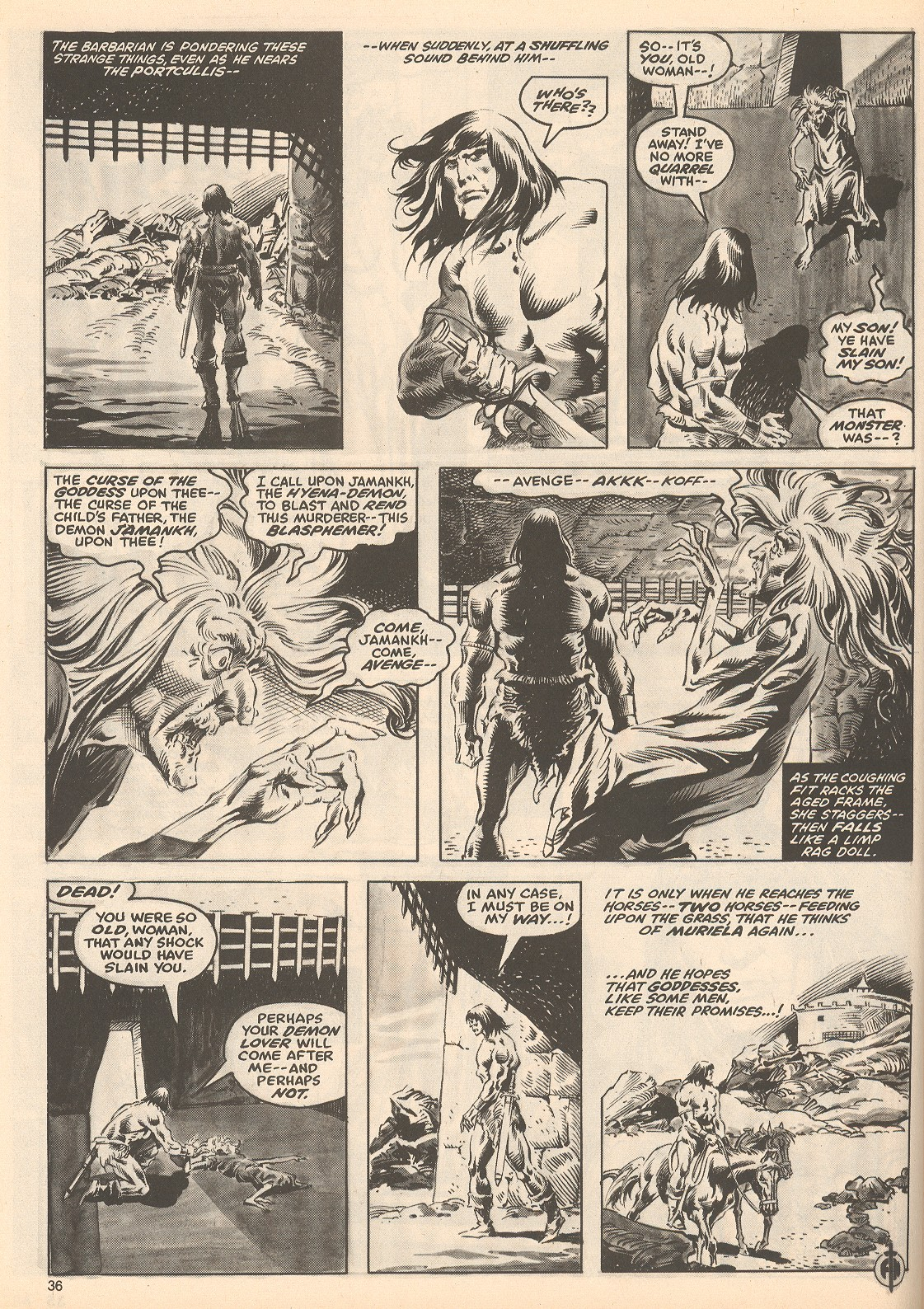 The Savage Sword Of Conan Issue #60 #61 - English 36
