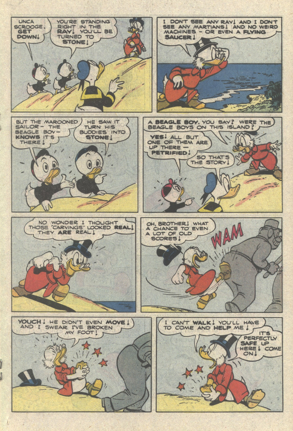 Uncle Scrooge (1953) Issue #222 #222 - English 19
