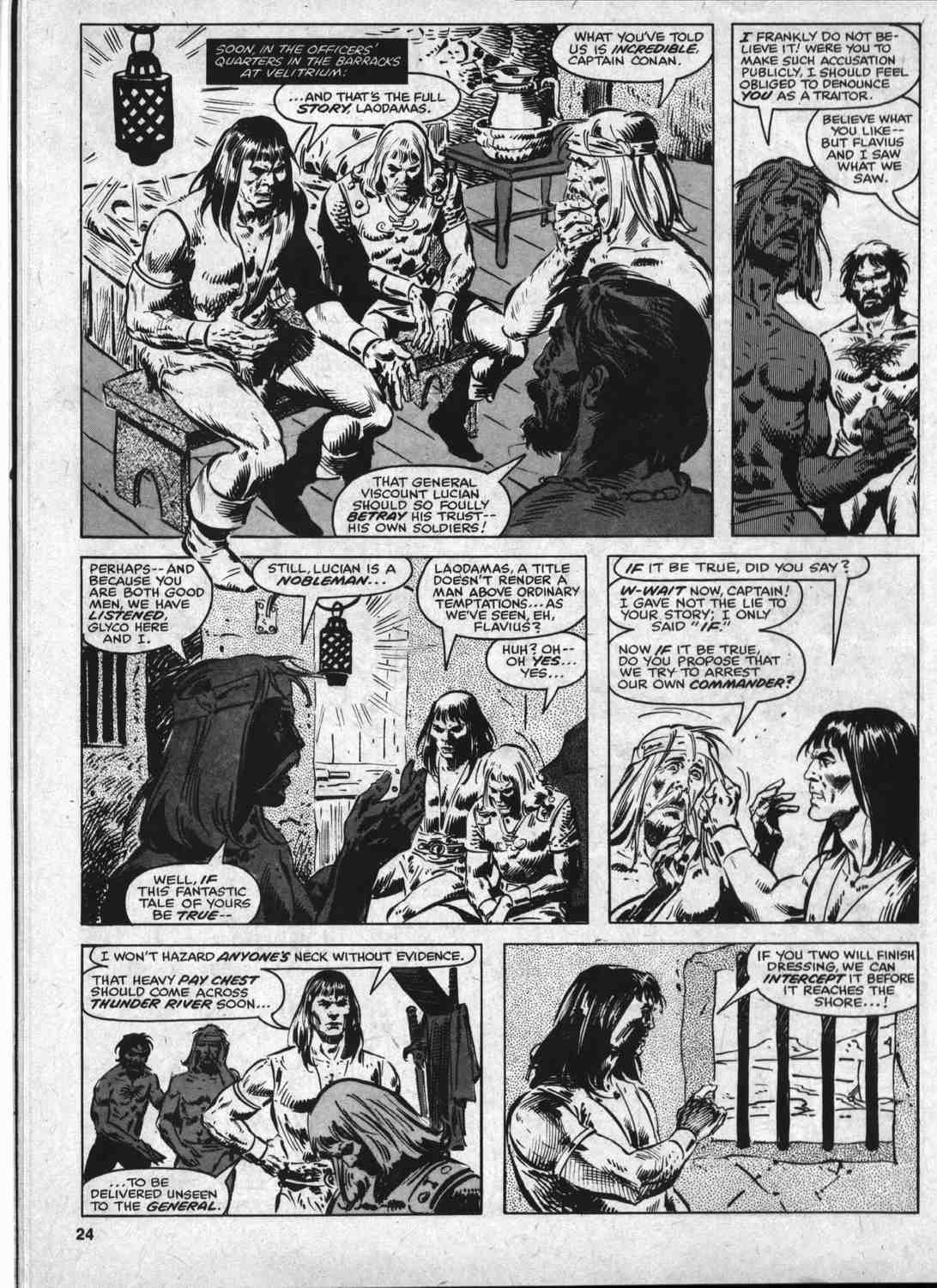 The Savage Sword Of Conan Issue #46 #47 - English 23