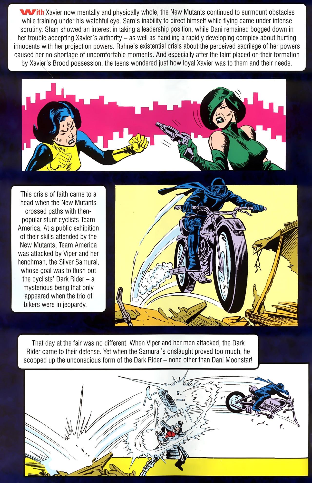 Read online New Mutants Saga comic -  Issue # Full - 7