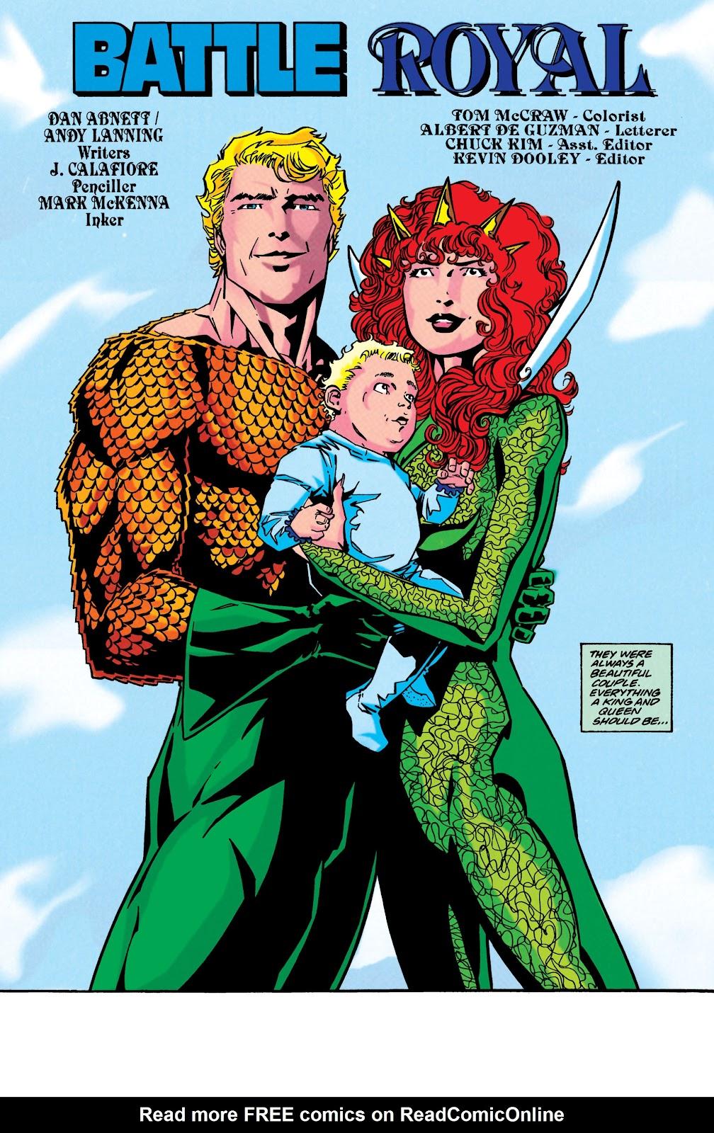 Aquaman (1994) Issue #49 #55 - English 4