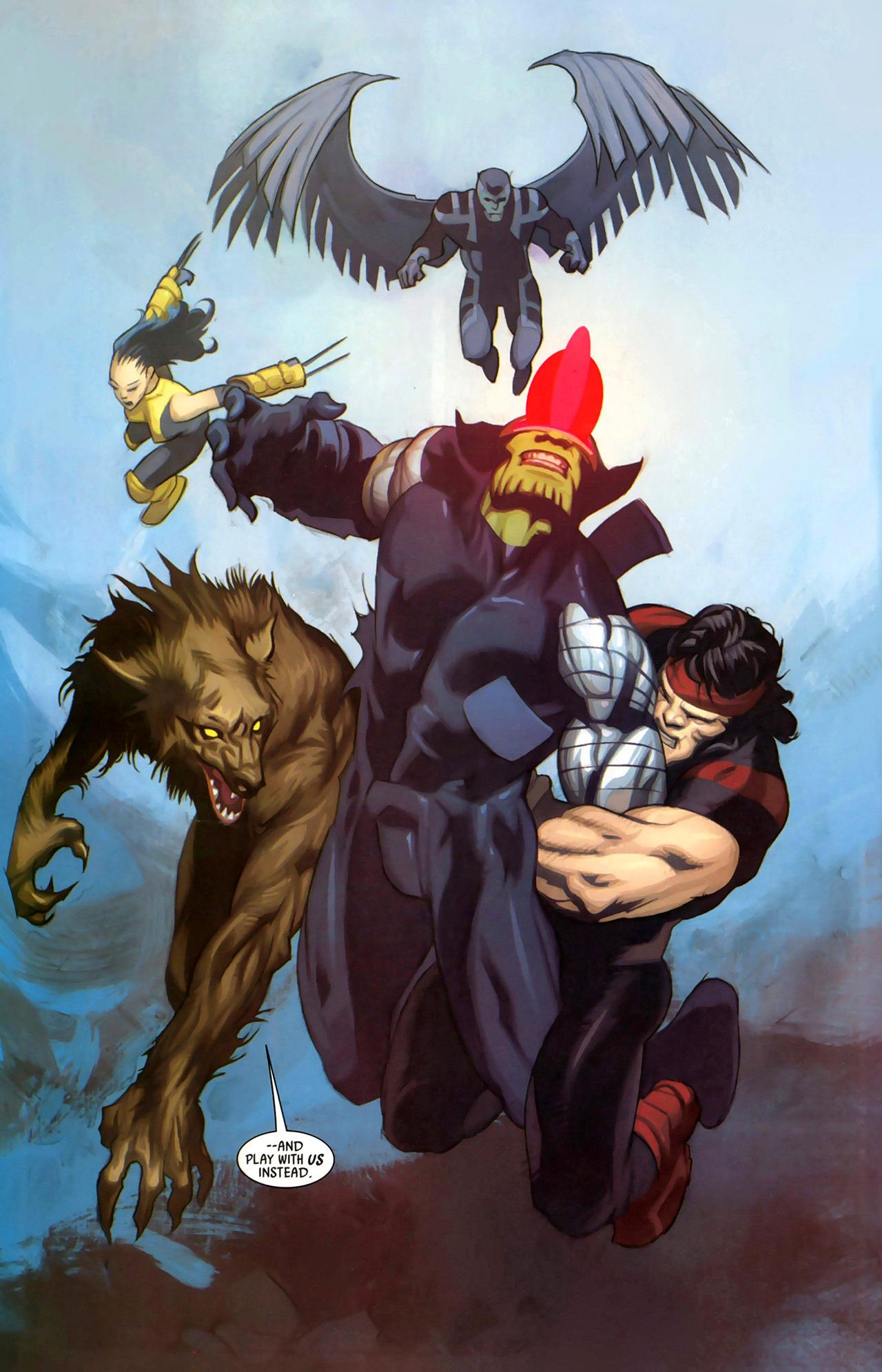 Read online Secret Invasion: X-Men comic -  Issue #2 - 20