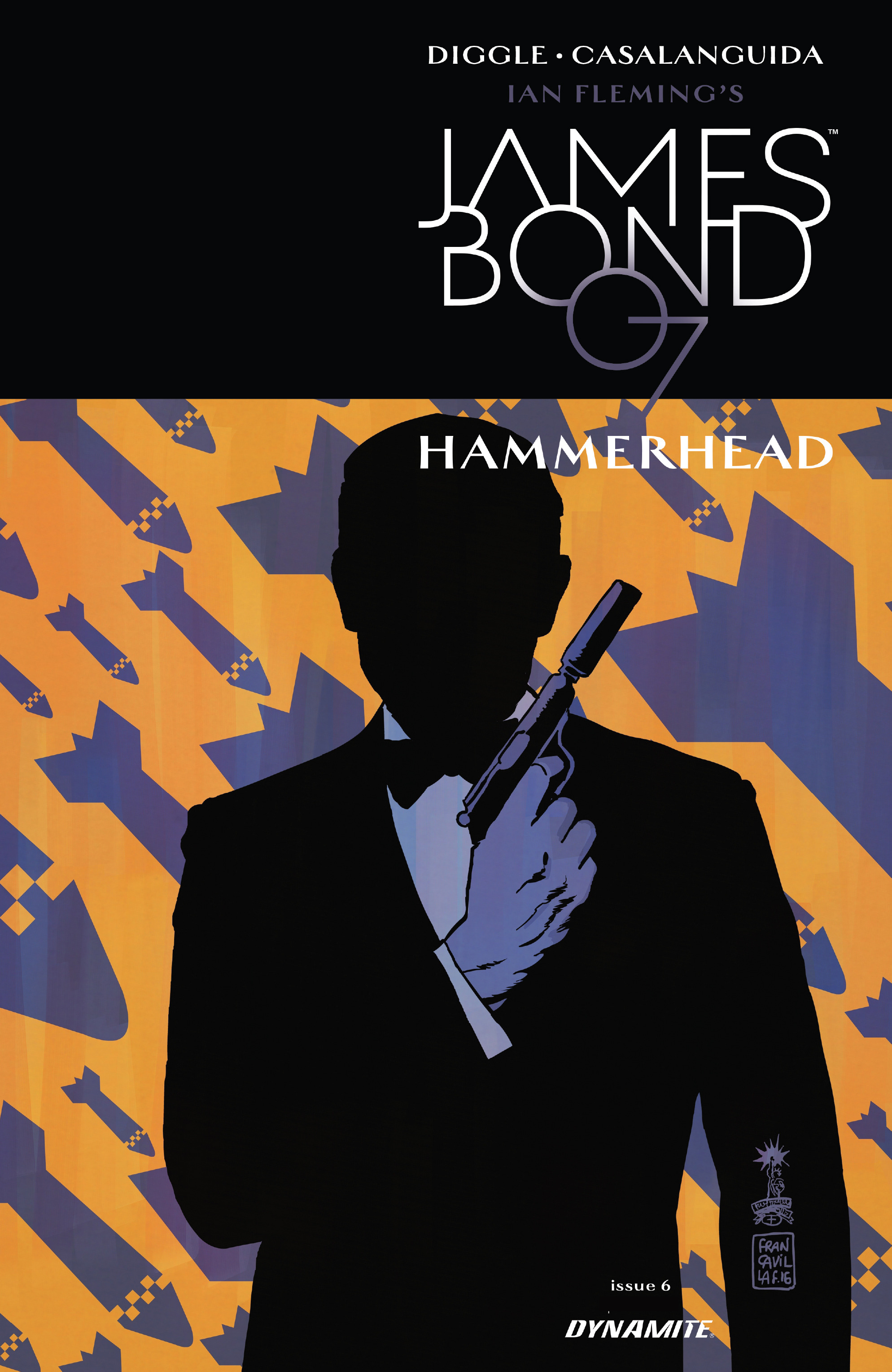 James Bond: Hammerhead  issue 6 - Page 1