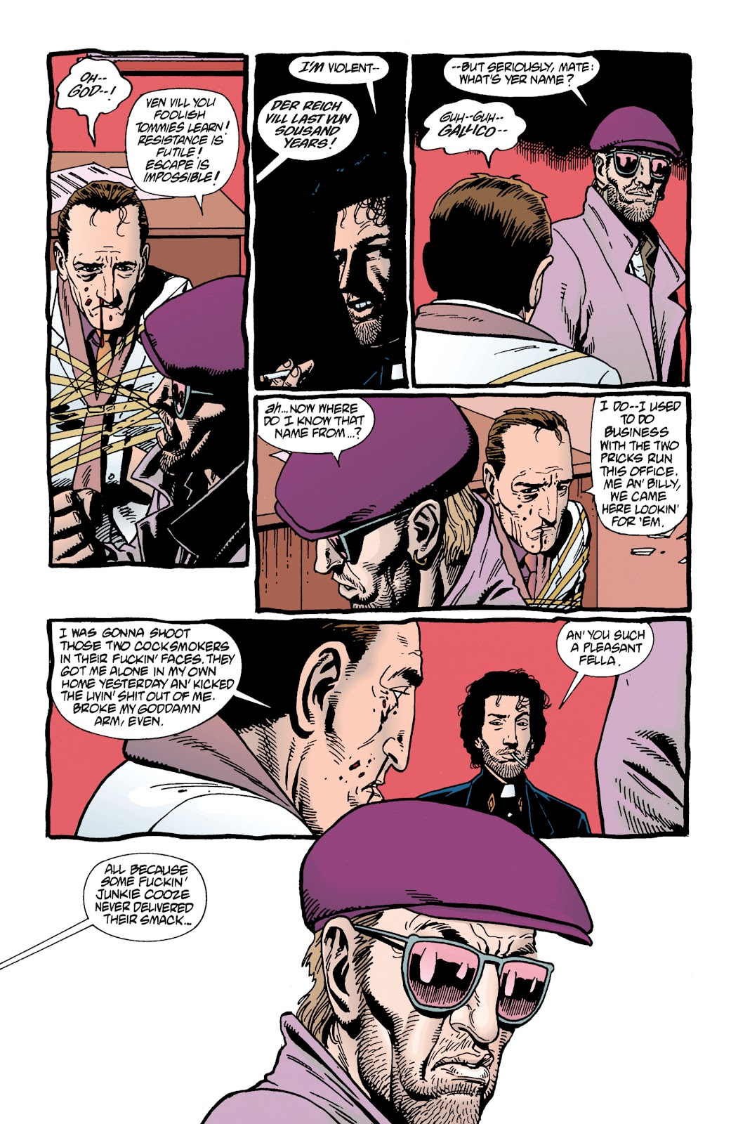 Preacher Issue #15 #24 - English 8