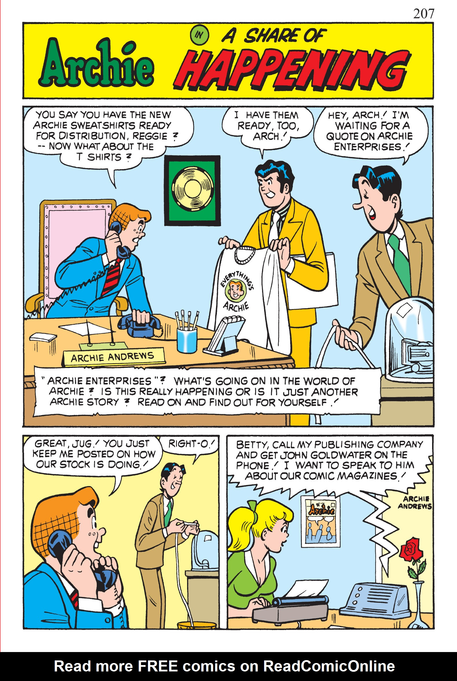 Read online The Best of Archie Comics comic -  Issue # TPB 1 (Part 1) - 203