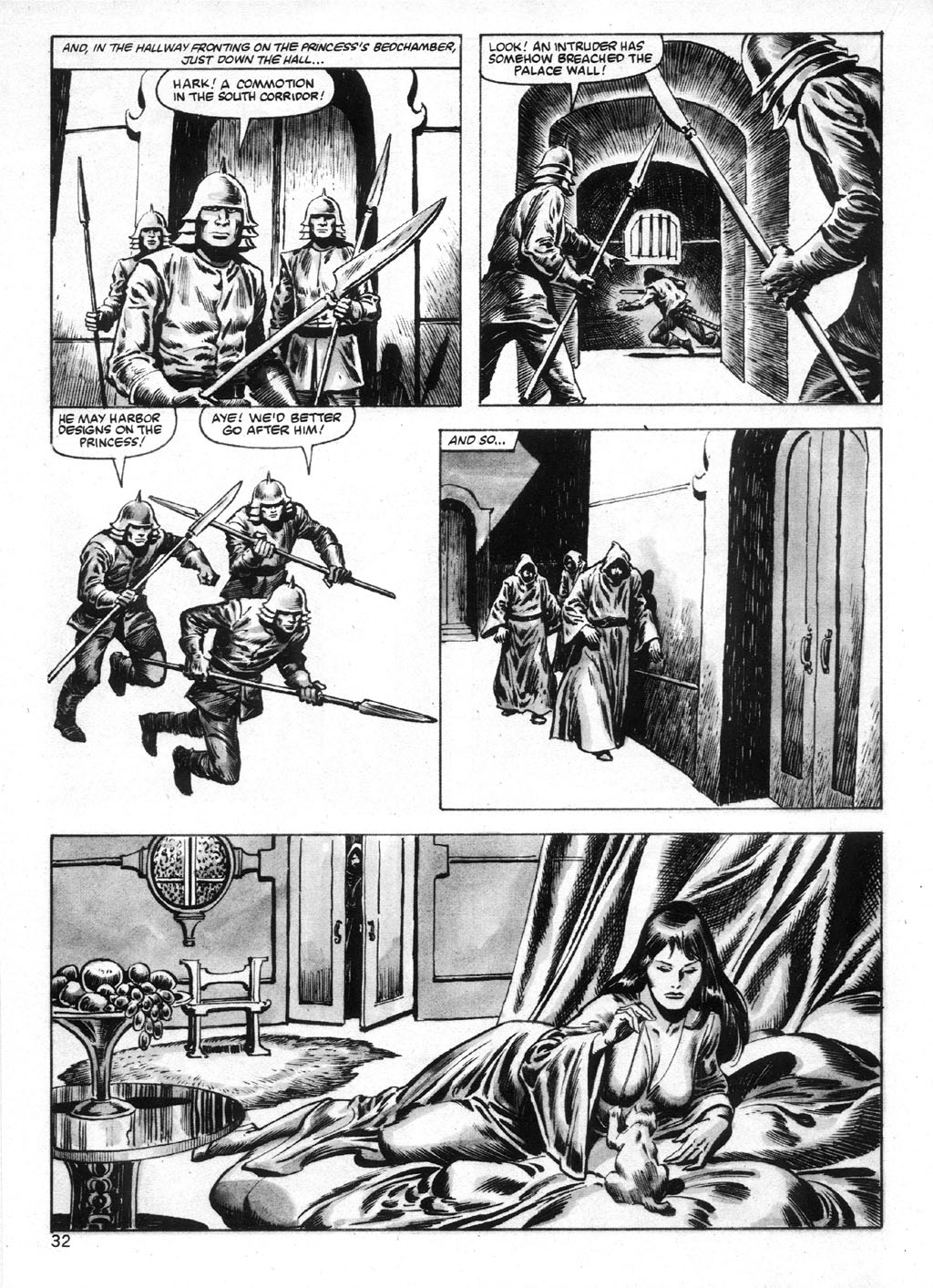 The Savage Sword Of Conan Issue #95 #96 - English 32