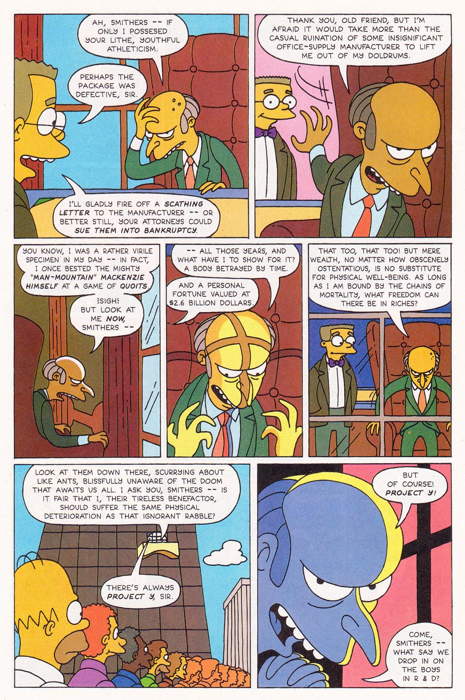 Read online Simpsons Comics comic -  Issue #1 - 6