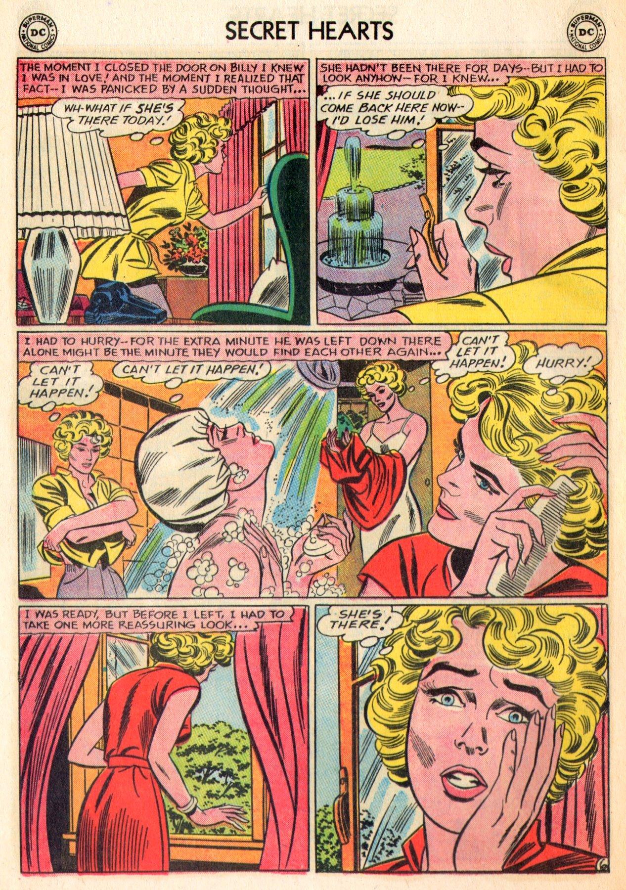 Read online Secret Hearts comic -  Issue #84 - 32