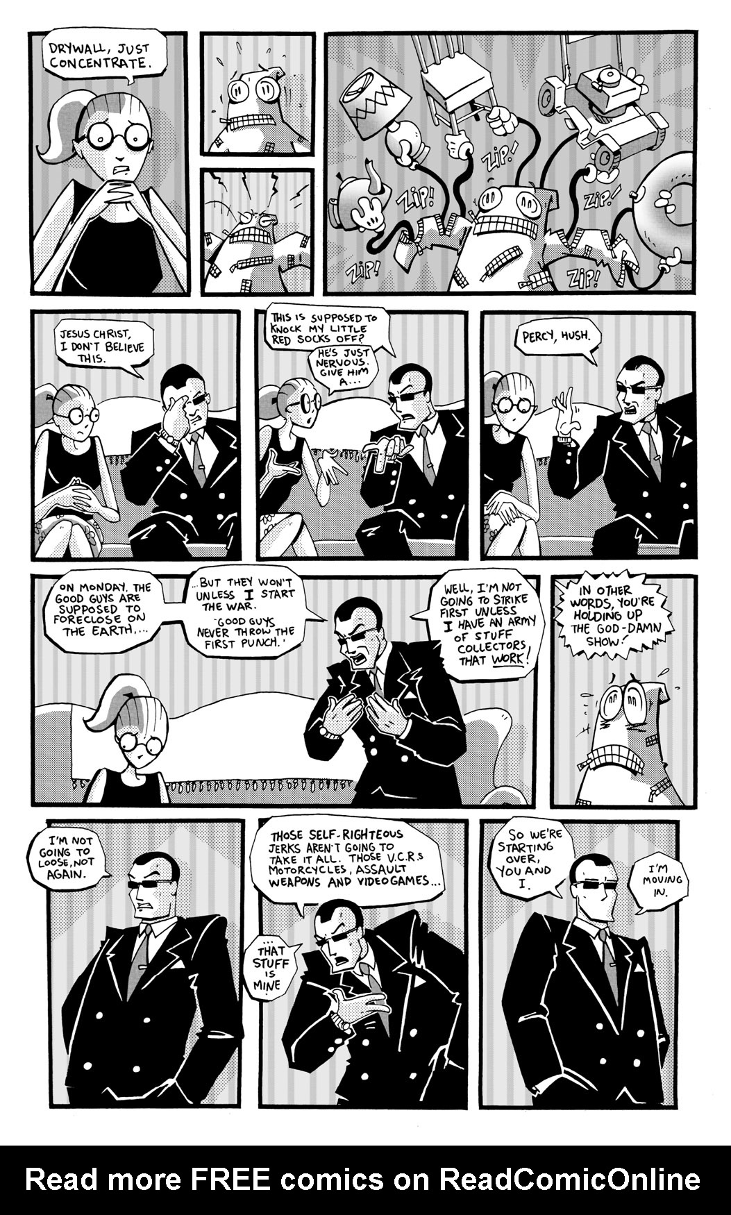 Read online Scud: The Disposable Assassin: The Whole Shebang comic -  Issue # TPB (Part 2) - 184