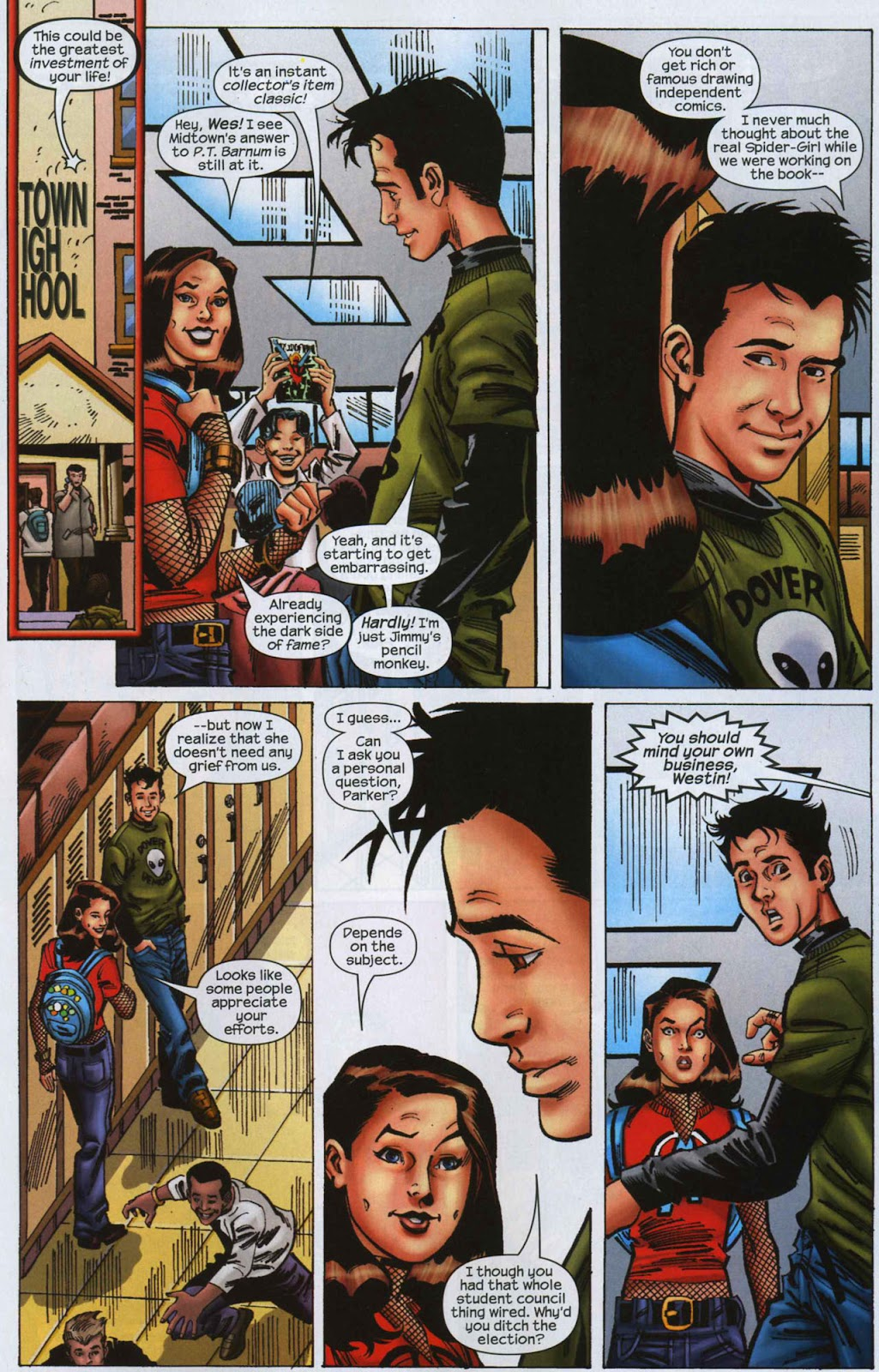 Amazing Spider-Girl Issue #7 #8 - English 12
