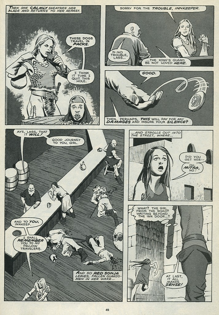 The Savage Sword Of Conan Issue #172 #173 - English 51