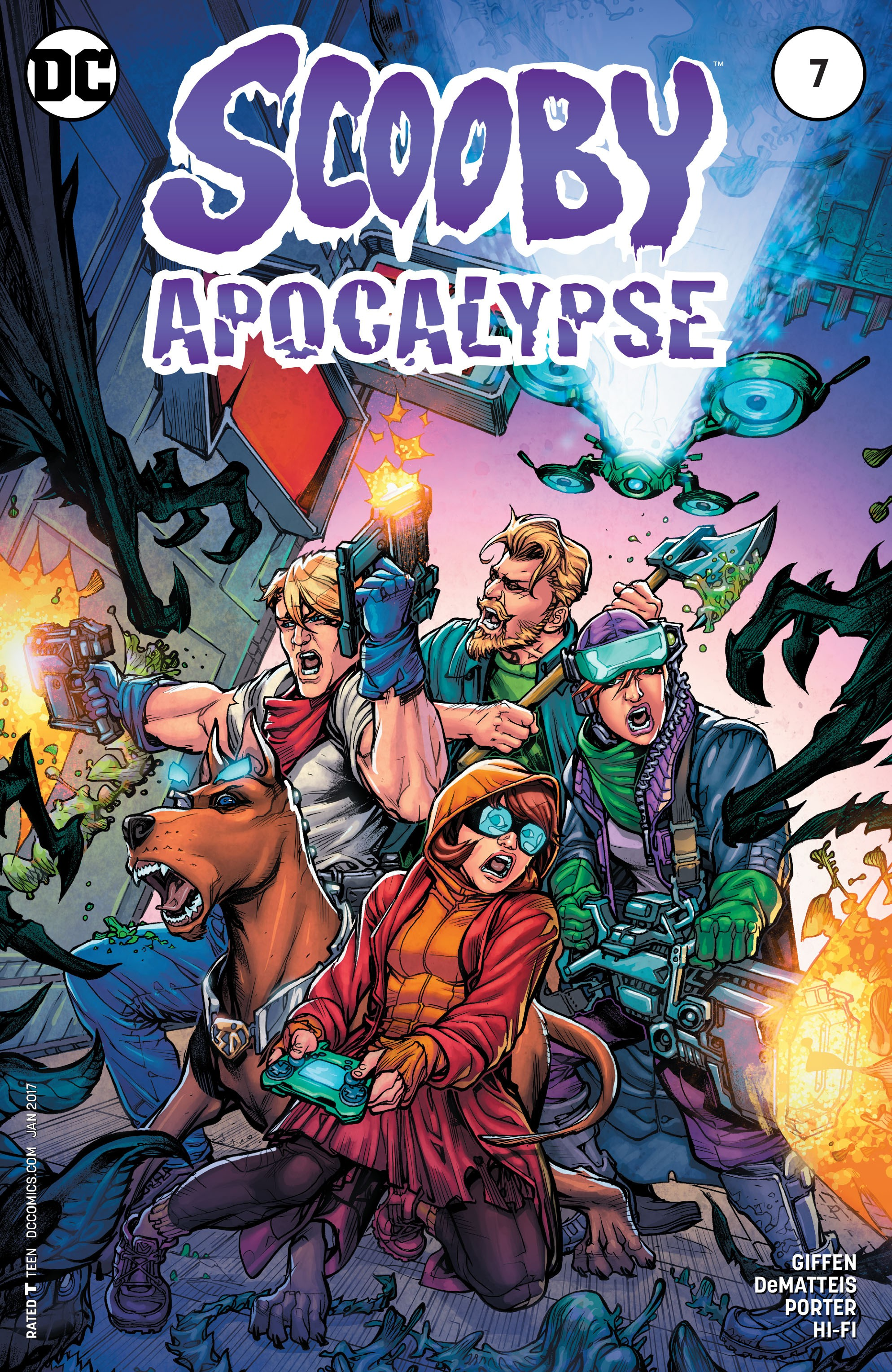 Read online Scooby Apocalypse comic -  Issue #7 - 1