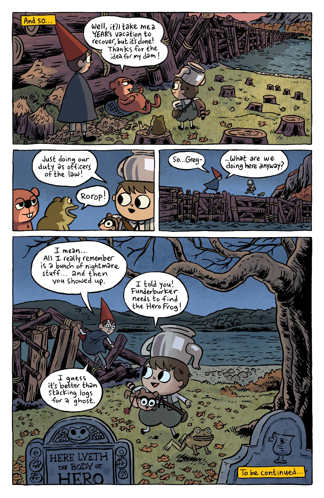 Over the Garden Wall (2016) Issue #4 #4 - English 13