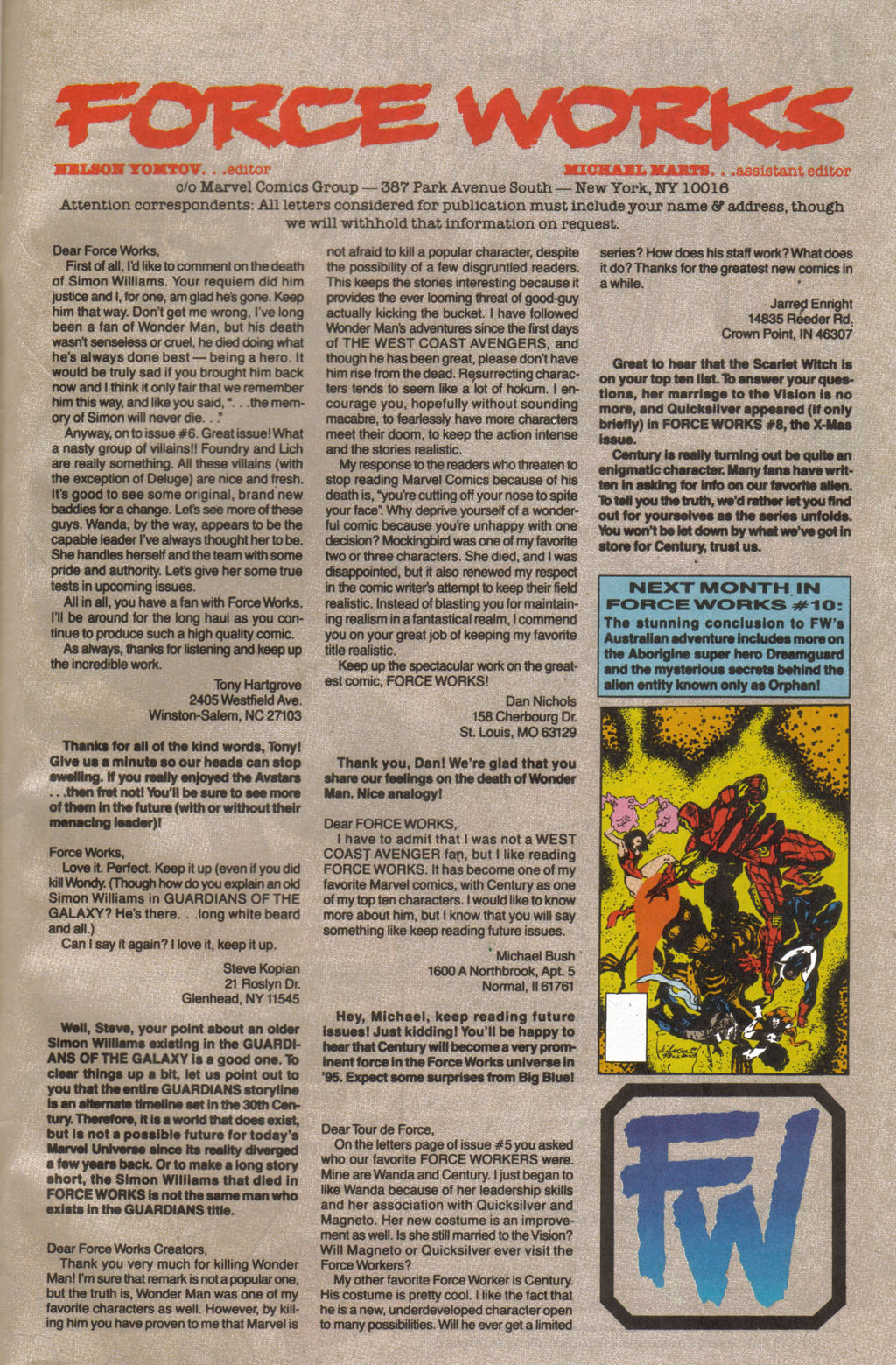 Force Works Issue #9 #9 - English 23