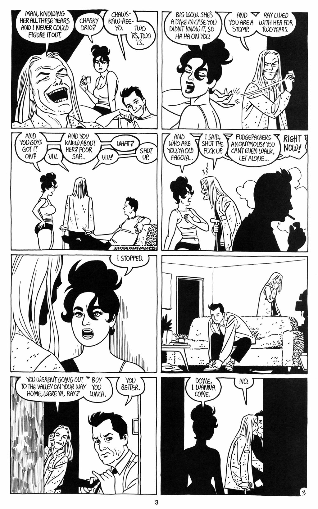 Read online Love and Rockets (2001) comic -  Issue #12 - 4